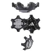 Adidas THiNTech Replacement Bulk Spike Cleats 20pcs, Black