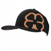 Black Clover Inside The Lines Black Cap, Orange/White/Black