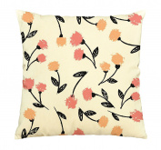 Flower Painting Printed Cotton Decorative Pillows Cover Cushion Case VPLC_03