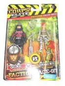 The Corps! Elite Faction Face Off (Ogre Vs Snake Bite) Action Figures