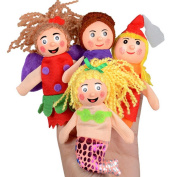 Baby Toy, Hatop 4PCS Finger Toys Hand Puppets Christmas Gift Refers To Accidentally