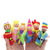 Baby Toy, Hatop 6PCS Finger Toys Hand Puppets Christmas Gift Refers To Accidentally