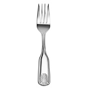 New Star Stainless Steel Shell Pattern Salad Fork, 18cm , Set of 36
