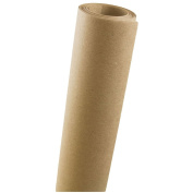 JAM Paper Wrapping Paper Rolls - 3.5sqm - Brown Kraft Paper - Sold individually