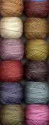 Valdani Perle Cotton Embroidery Thread Size 12 Scent of Flowers Collection