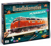 Schipper Marklin Diesel Locomotive Paint-by-Number Kit