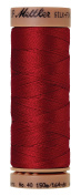 Mettler Silk-Finish 40 Weight Solid Cotton Thread, 164 yd/150m, Country Red