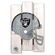 NFL Wood Fence Sign