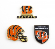 NFL Three Piece Collector's Pin Set