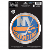 NHL Logo Chrome Magnet, 16cm x 23cm