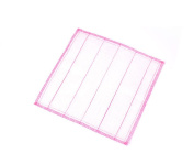 6 Pcs 8-Layer Cotton Yarn Cleaning Cloths Scouring Pad Non-stick Oil Cloth Absorbent Cloth Kitchen Dish Cloth for Household Cleaning Pink