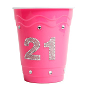 21 Hot Pink Cup