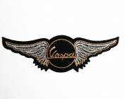 Vespa Moped Scooters Motorcycles wing emblem Embroidered Iron or Sew on Patch