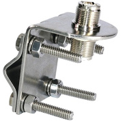 TRAM 3270 Stainless Steel SO-239 to SO-239 Antenna Mirror Mount