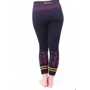 Yogamasti Women's yoga pants-Seamless Hatha Capri-moisture resistant with protective gusset