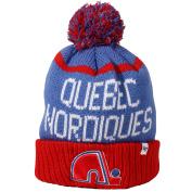 Quebec Nordiques Vintage Linesman Cuff Knit Hat
