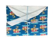 Noahs Ark Baby Blanket for Boys or Girls. Great for Newborn or Toddler. A Perfect Baby Gift.