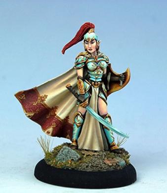 Female High Elf Warrior w/Sword & Shield DSM-7414