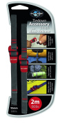 Sea to Summit Alloy Buckle Accessory Straps-Yellow, 1 mm