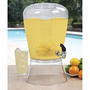 Creative Bath 11.4l Beverage Dispenser with Ice Cylinder and Fruit Infuser