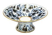 Lomonosov Porcelain Radiant Candy Dish Jam Confectionery Vase BlueBells 19cm D
