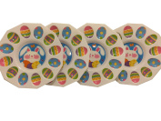 Set of 4 - Easter Egg Holder Tray - 24cm Diameter