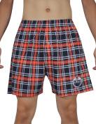 NHL Edmonton Oilers MENS Plaid Sleepwear / Pyjama Shorts