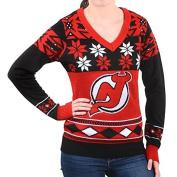 NHL Womens Big Logo V-Neck Sweater