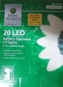 20 LED Battery Operated C3 Lights
