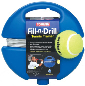 Tourna Fill n Drill Trainer Youth Tennis Practise Training Kids Aid Youth Tool
