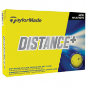 3 Dozen New TaylorMade Distance+ Plus Golf Balls Yellow