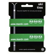 Manbi Pair Of 2cm Hook and loop Ski Ties Atomic K2 Head Cable Tidy Luggage Strap
