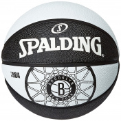 Spalding Brooklyn Nets Team Ball-Multi-Colour, Size 7