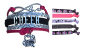 Cheer Bracelet- Girls Cheerleading Bracelet- Cheer Jewellery - Perfect Gift For Cheerleader, Cheer Mom or Team