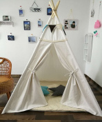 Sunny@new design white colour kids play tent indian teepee children playhouse children play room teepee