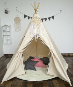 Sunny@new design Primary colour kids play tent indian teepee children playhouse children play room teepee