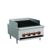 """EQ Commercial Stainless Steel Kitchen Countertop Gas pan stove 60cm x 80cm x 14"""""""