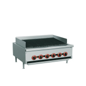 """EQ Commercial Stainless Steel Kitchen Countertop Gas pan stove 90cm x 80cm x 14"""""""
