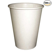 PerfecTouch 240ml Insulated Paper Hot Cup Simply White -- 1000 per case.