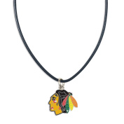 NHL Necklace with Leather