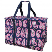 Paisley Print NGIL Mega Shopping Utility Tote Bag