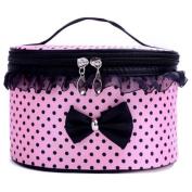 Usstore 1Pcs Storage Box makeup Cosmetic Bag Portable Travel Toiletry Organiser Holder Handbag