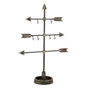 Stonebriar SB-6019A Heartland Metal Arrow Jewellery Holder