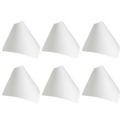 Mooca White Modern Necklace Display and Wrap Around Snap Cone
