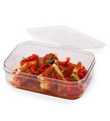 reuseit Tritan Food Container, 1.3l BPA -free Clear Rectangular Reusuable Storage Microwave & Freezer Safe