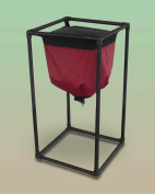 The Worm Inn (Burgundy) - The Worm Composting Solution! Discover AIR FLOW Composting! Best Worm Composter In The World. Easiest Way To Create Vermicompost. Process MORE Food Scraps Without Creating A Stinky Worm Bin. Easy Red Wiggler Composting. Five D ..