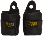 Everlast Adults 'Box Item EV2754BK Ankle/Wrist Weights 1.1kg Each, 057196 0300