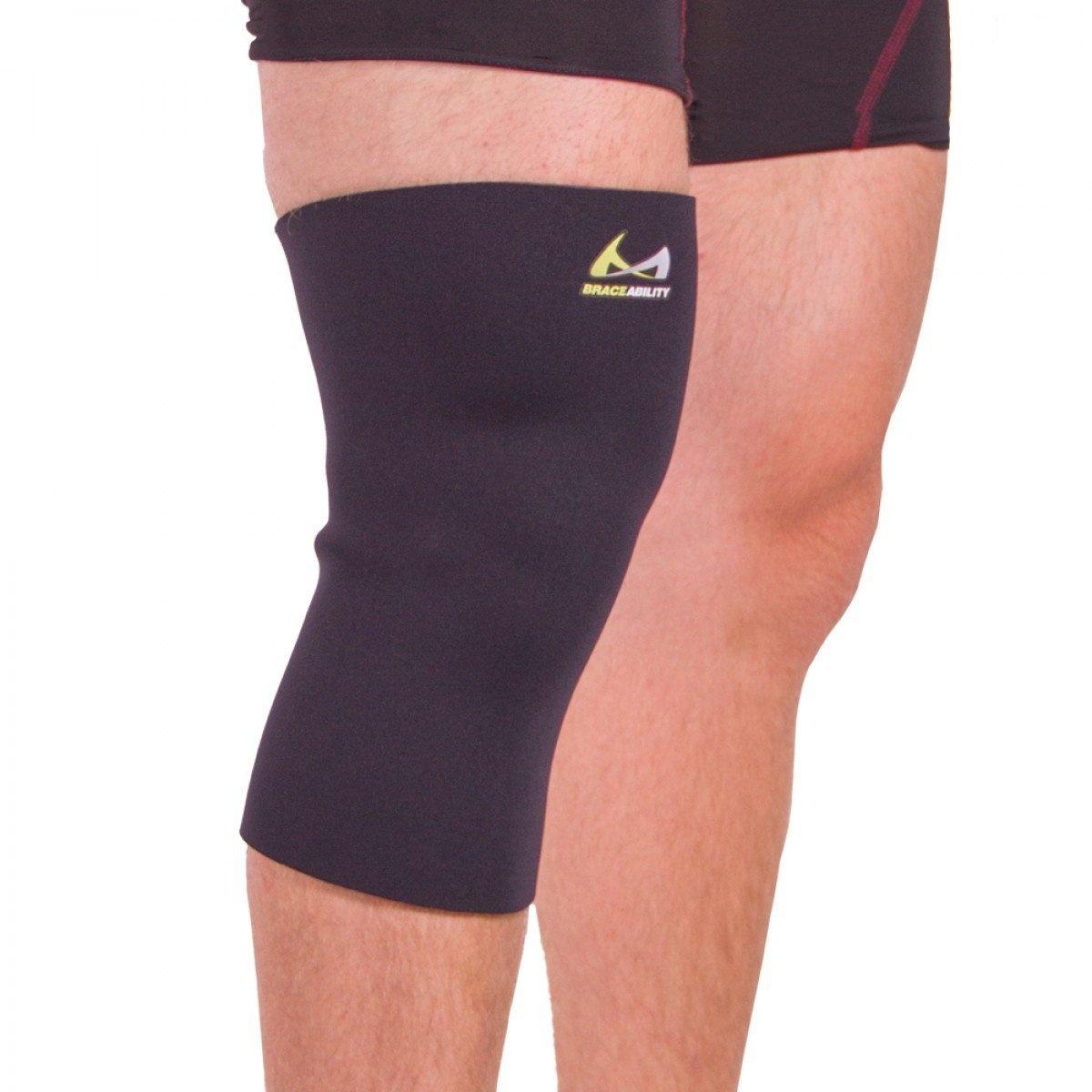 5e0eb82f6a Plus Size XXXXL Compression Knee Sleeve by BraceAbility - Shop ...