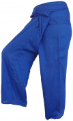 Fisherpant Fisherman Pant ** NAVY BLUE ** Pants Yoga Wrap Sport Thailand Thai Long