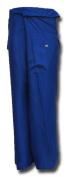 Fisherpant Fisherman Pant ** BLUE ** Pants Yoga Wrap Sport Thailand Thai Long